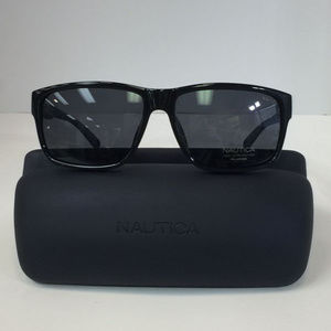 Nautica N 6203S 001 Black Polarized Sunglasses